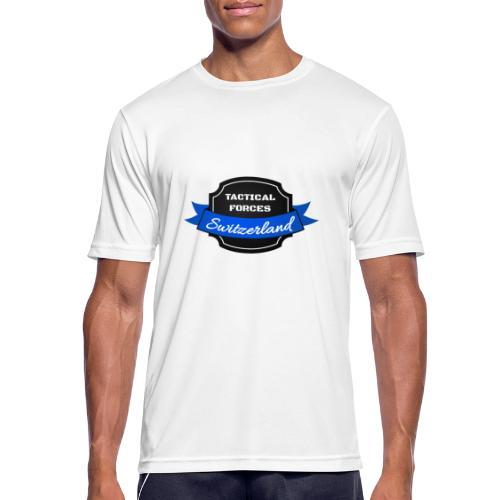 TFS Ruban noir et bleu - T-shirt respirant Homme