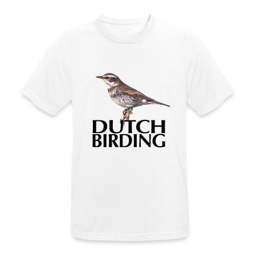 DB Bruinelijster - Mannen T-shirt ademend actief