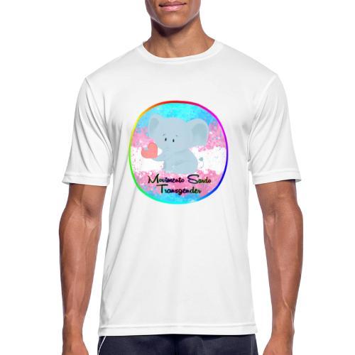 Logo Dell'Associazione Movimento Sardo Transgender - Maglietta da uomo traspirante