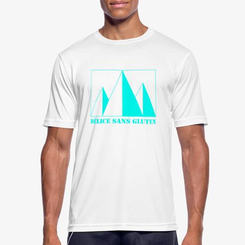 Snow Mountain ! Délice sans gluten - Men's Breathable T-Shirt