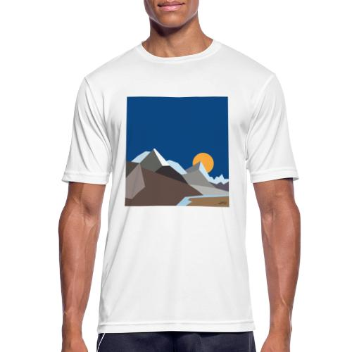 Himalayas - Men's Breathable T-Shirt