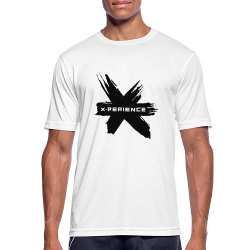 x-perience - Das neue Logo - Männer T-Shirt atmungsaktiv