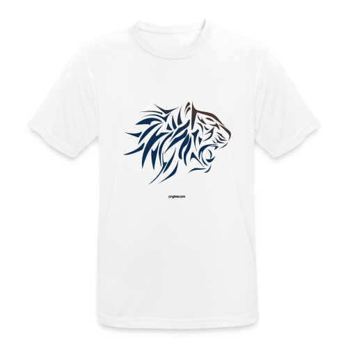 tiger vector - Camiseta hombre transpirable
