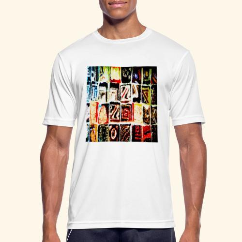Mosaico - Maglietta da uomo traspirante
