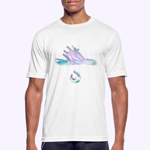 onda - Maglietta da uomo traspirante