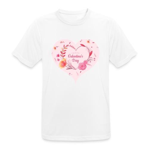 Happy Valentinesday - Männer T-Shirt atmungsaktiv