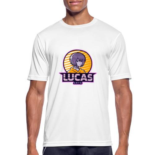 Lucas Artzzz... - Mannen T-shirt ademend actief