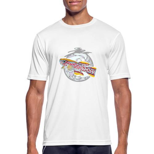 Space Fish Bluecontest - T-shirt respirant Homme