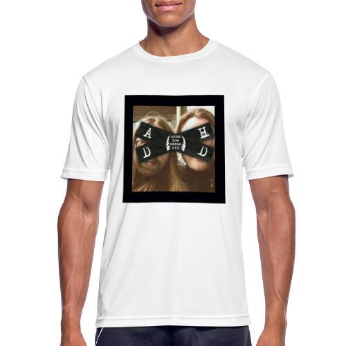 Asså Dom Hatar Dig - Andningsaktiv T-shirt herr
