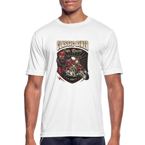 Classic Biker - Maglietta da uomo traspirante
