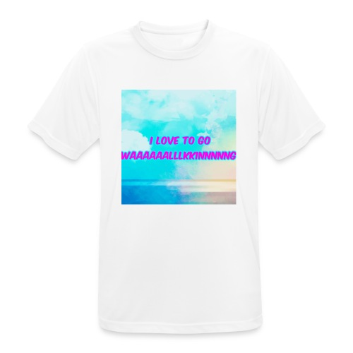 I love to go waaaaaalllkkinnnnng Official Merch - Men's Breathable T-Shirt