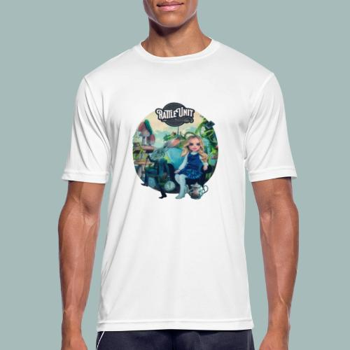 Letting Go Merch - Mannen T-shirt ademend actief
