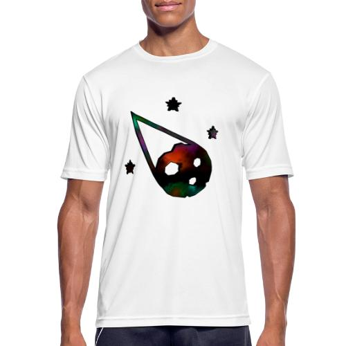 logo interestelar - Camiseta hombre transpirable