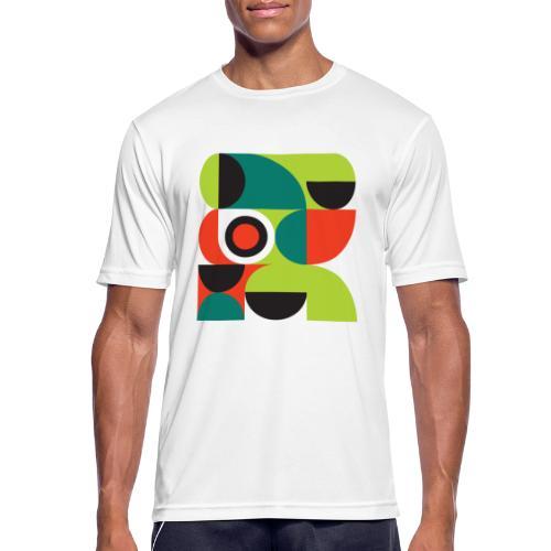 Bauhaus no 2 - Herre T-shirt svedtransporterende