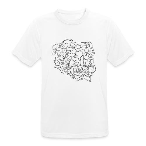 Kotowództwa - Koszulka męska oddychająca