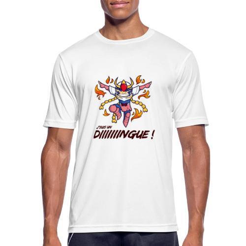 Ikki - J'suis un dingue - T-shirt respirant Homme