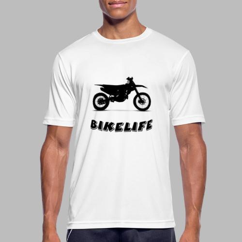 Bikelife - Andningsaktiv T-shirt herr