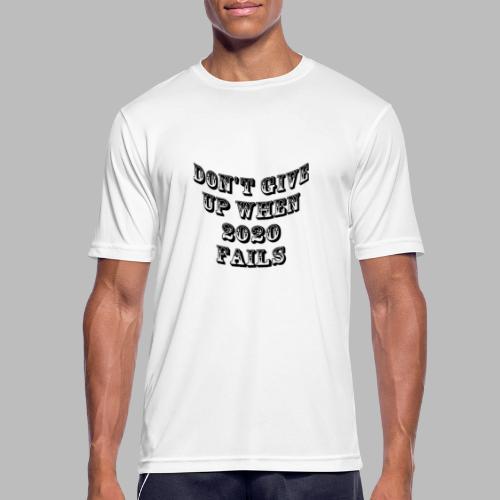 Corona 2020 - Andningsaktiv T-shirt herr