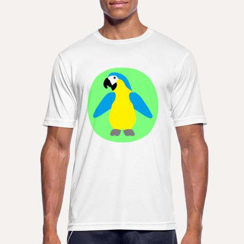 Yellow-breasted Macaw - Men's Breathable T-Shirt