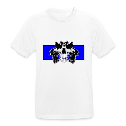 skull full - Camiseta hombre transpirable