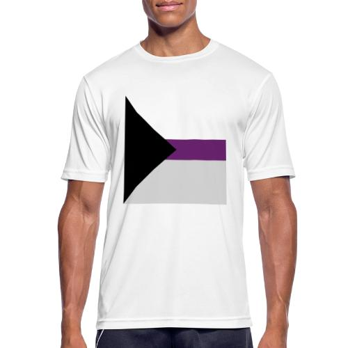 Demisexuell Flagge - Männer T-Shirt atmungsaktiv