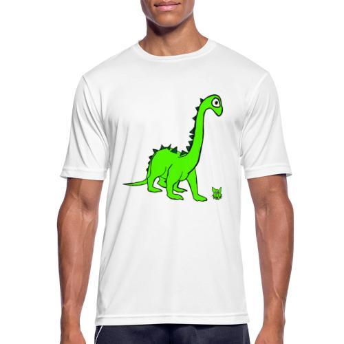 dinosauro - Maglietta da uomo traspirante