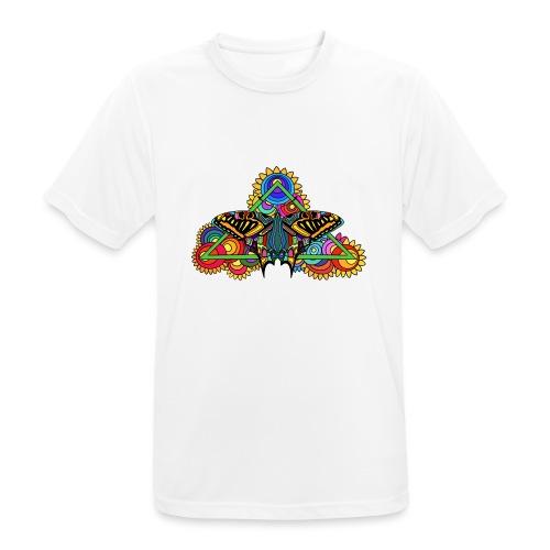 Happy Butterfly! - Männer T-Shirt atmungsaktiv