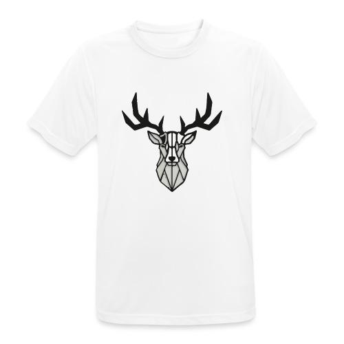 Hirsch - Hirsch - Hirsch - Männer T-Shirt atmungsaktiv