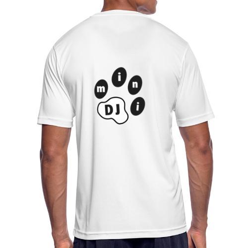 DJMini Logo - Herre T-shirt svedtransporterende