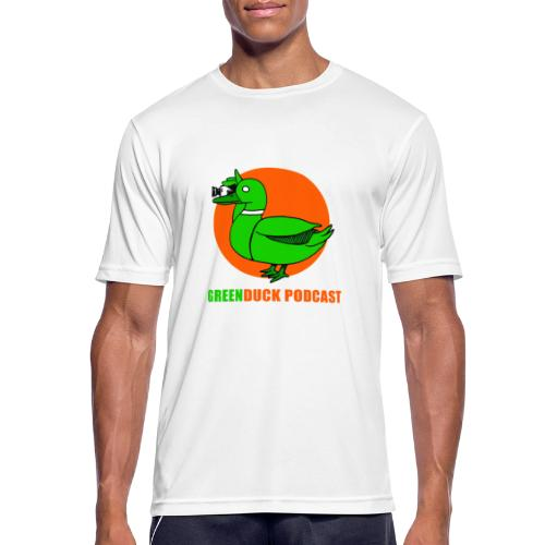 Greenduck Podcast Logo - Herre T-shirt svedtransporterende