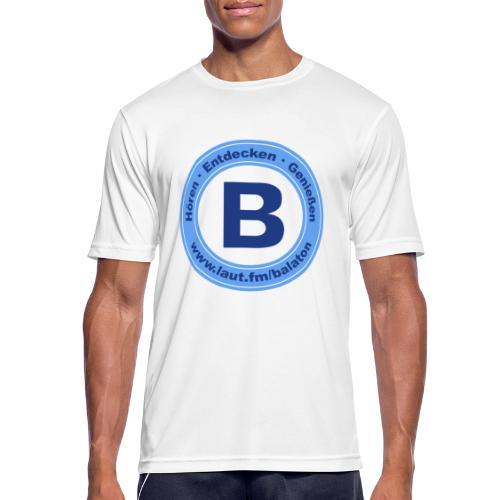 Webradio Balaton - Männer T-Shirt atmungsaktiv