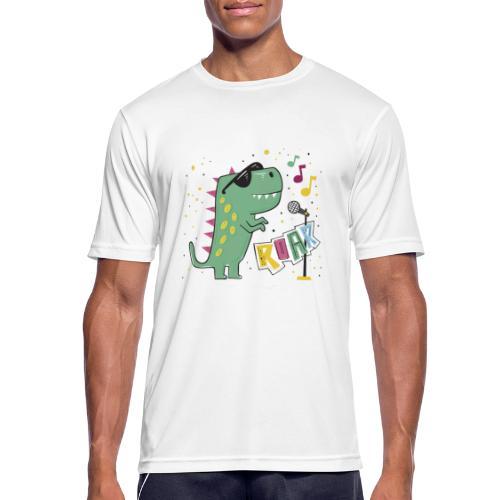 DINO MUSIC 1 - Camiseta hombre transpirable