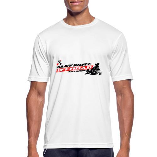 DANY WIRZ OFFROAD TRAINING - Männer T-Shirt atmungsaktiv