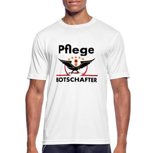 Pflegebotschafter.com - Männer T-Shirt atmungsaktiv