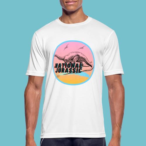 National Jurassic - Men's Breathable T-Shirt