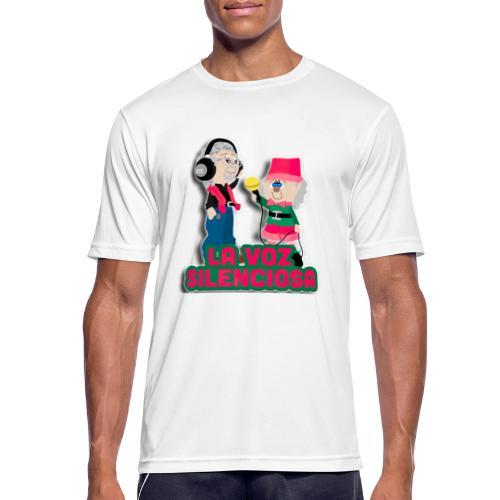 La voz silenciosa - Jose y Arpelio - Camiseta hombre transpirable