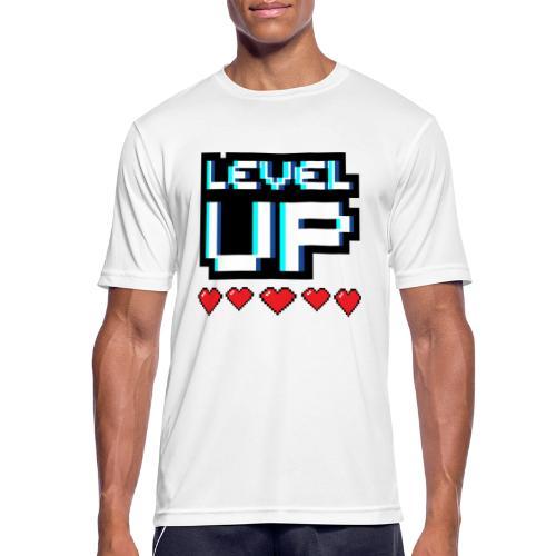 levelup - Andningsaktiv T-shirt herr
