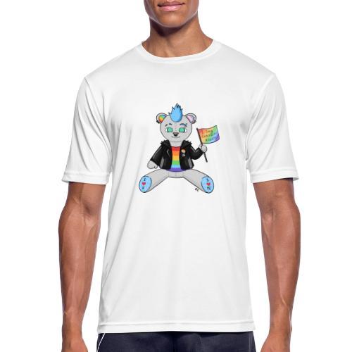 LGBT Bear Love - Herre T-shirt svedtransporterende