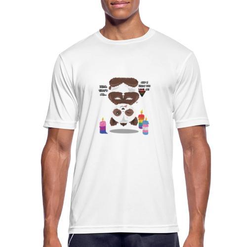 Panda Love - Herre T-shirt svedtransporterende