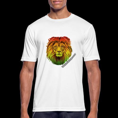 LION HEAD - UNDERGROUNDSOUNDSYSTEM - Männer T-Shirt atmungsaktiv