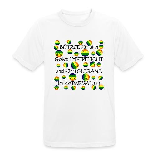 Toleranter Karneval 21.1 - Männer T-Shirt atmungsaktiv