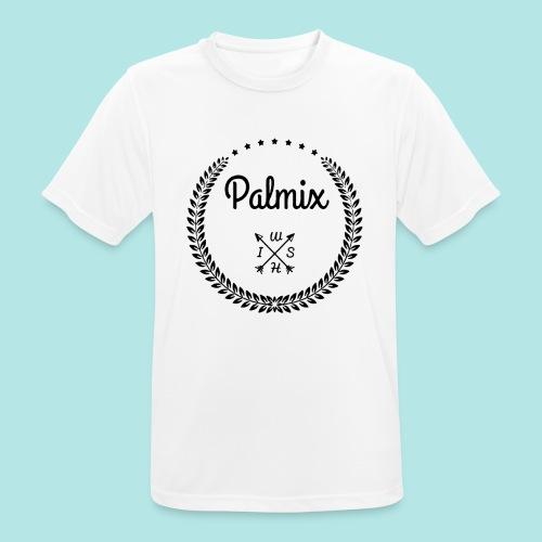 Palmix_wish cap - Men's Breathable T-Shirt
