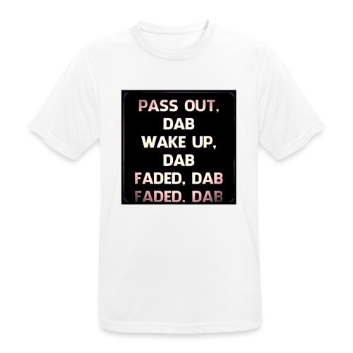 DAB - Mannen T-shirt ademend actief