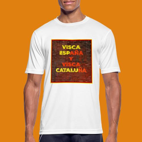 SPAIN AND CATALONIA - Men's Breathable T-Shirt
