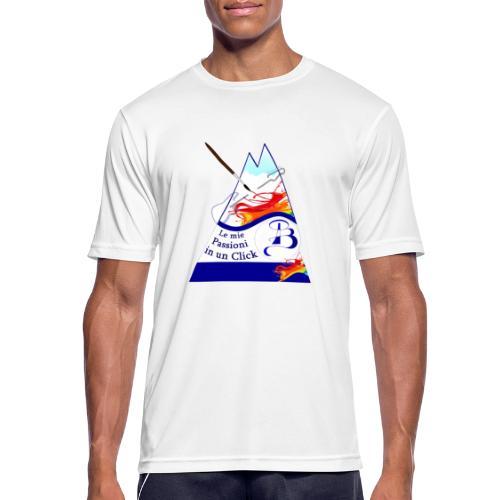 Logo colori - Maglietta da uomo traspirante