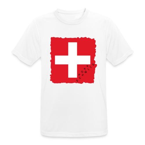 Schweiz 21.1 - Männer T-Shirt atmungsaktiv