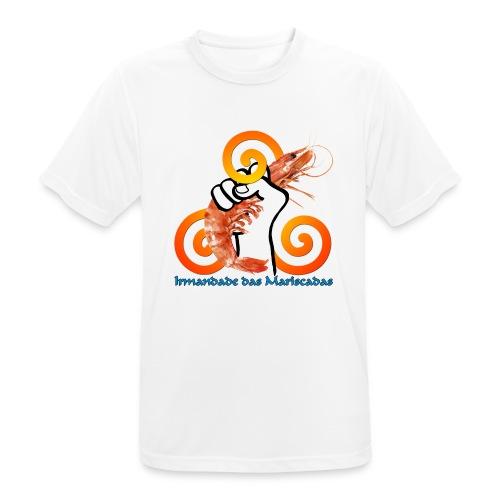 Irmandade das Mariscadas - Camiseta hombre transpirable