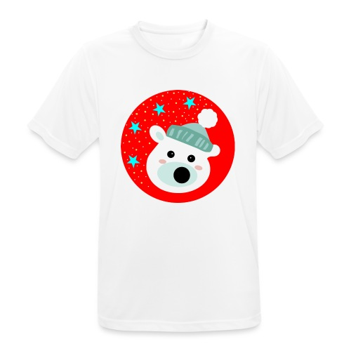 Winter bear - Men's Breathable T-Shirt