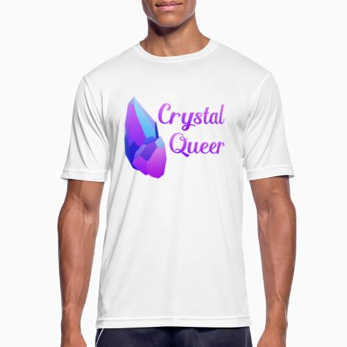 Crystal Queer - Men's Breathable T-Shirt