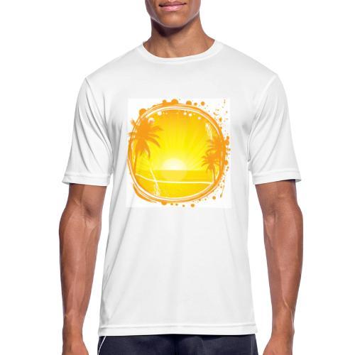 Sunburn - Men's Breathable T-Shirt